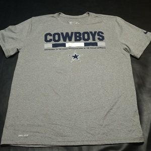 Nike Dallas Cowboy Drifit Shirt